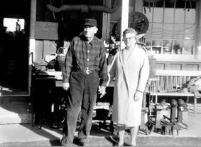 Photo of Howard and Zoe Leake